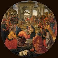 La Adoración de Domenico Ghirlandaio