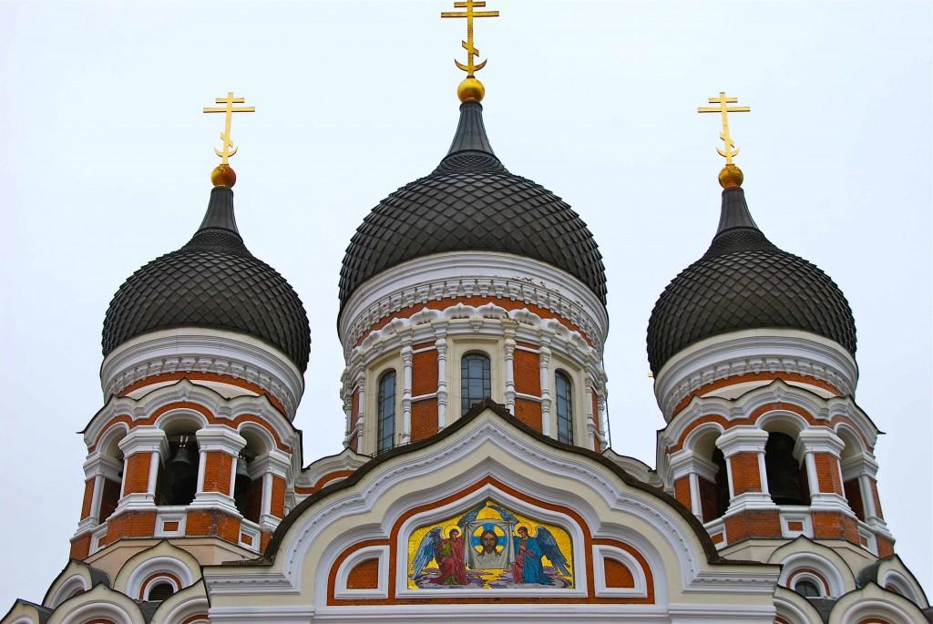 Catedral Ortodoxa Rusa de Tallín. Copyright Hernando Reyes