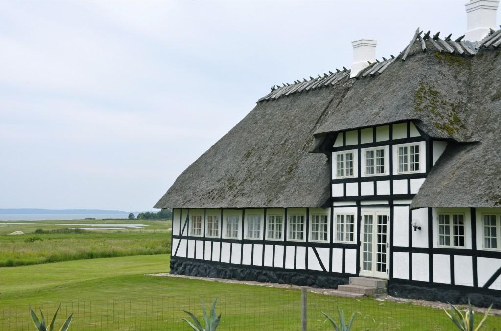 Construcción típica de la Isla de Fionia. Falsled, Dinamarca. Copyright, Hernando Reyes
