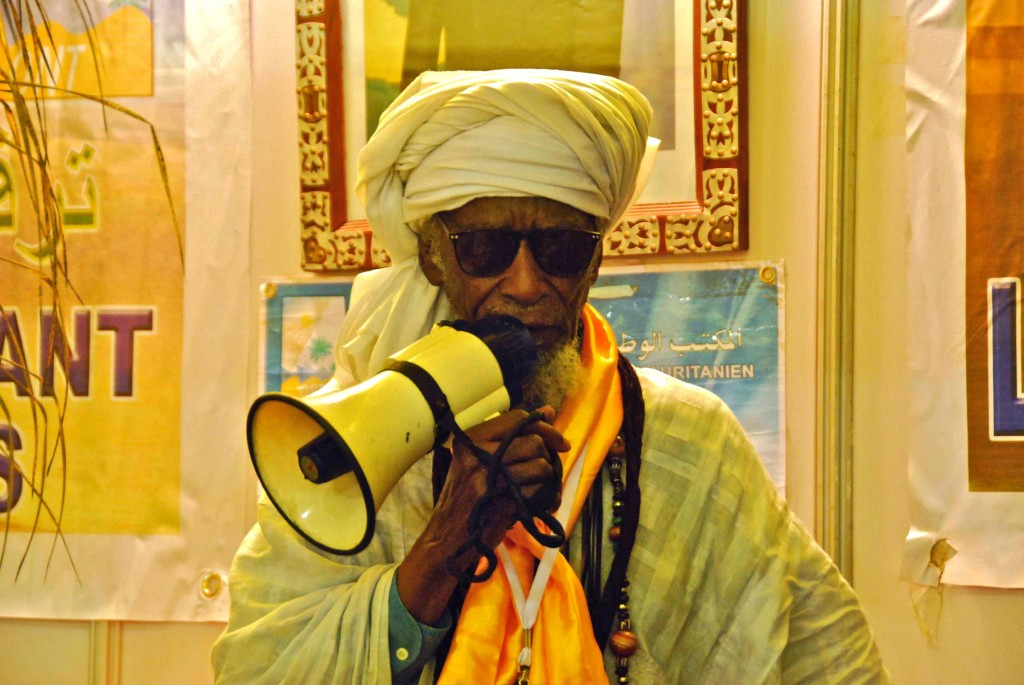 Cantante de mauritania
