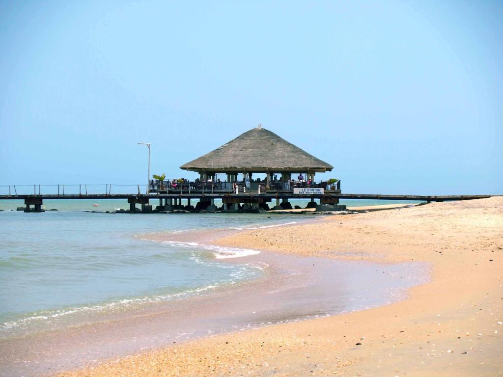 Playa de Sally en Senegal