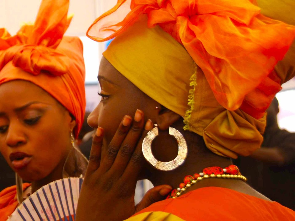 Tocado senegalés en Dakar