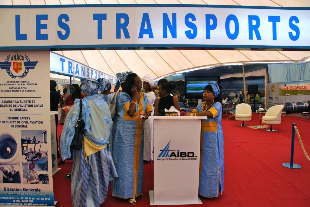 Stand durante Ticaa 2011 Dakar.