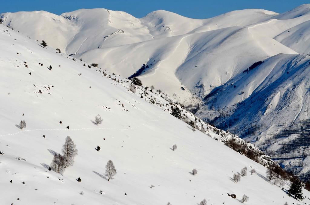 Panorámica del Val Louron, Altos Pirineos. Francia. Copyright Hernando Reyes