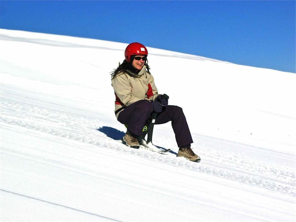 Yooner en Peyragudes. Altos Pirineos, Francia. Copyright Hautes Pyrénées