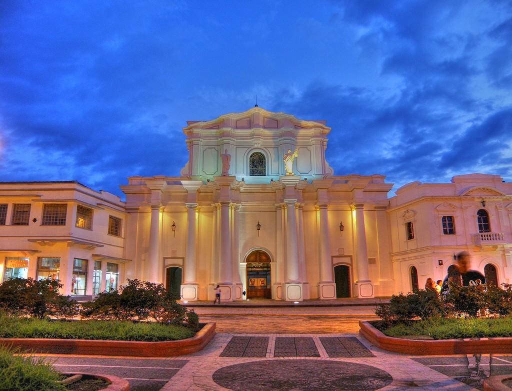 Catedral de popayán, Colombia.