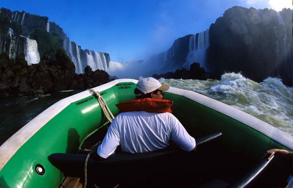 Foto cedida a ALTUM por EMBRATUR. Cataratas de Iguazú.