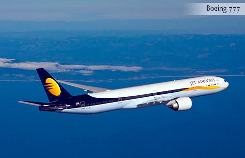 Foto cedida a ALTUM por Jet Airways