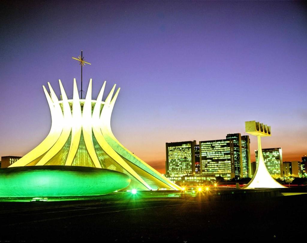 Imagen de Brasilia. Copyright Embratur.