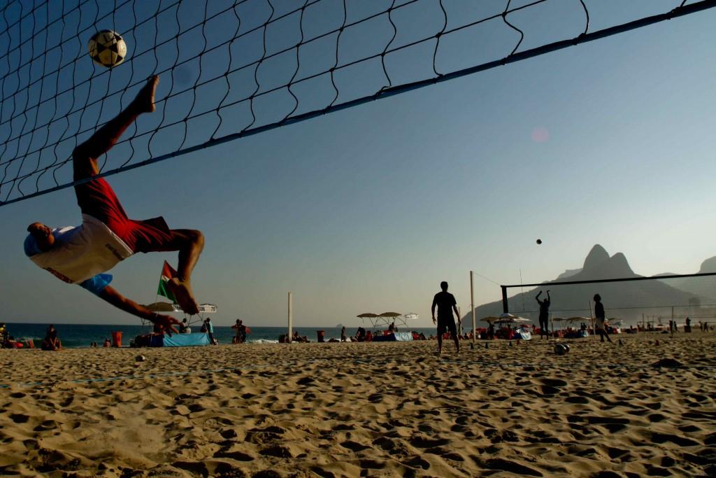 Playa de Ipanema, Río de Janeiro. Copyright Embratur.