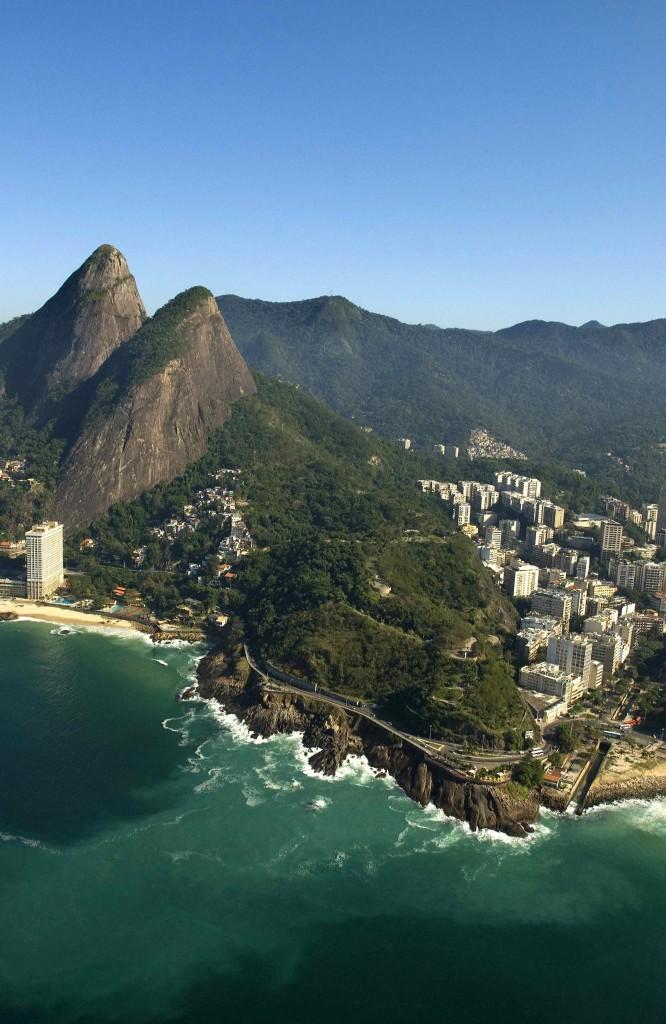 Típica imagen de Río de Janeiro. Copyright Embratur.